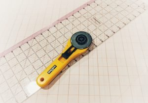 Best Sewing Tools for Beginners: Rotary Cutter & Ruler