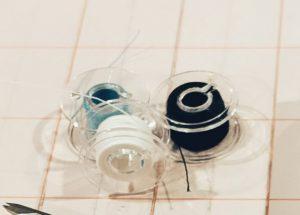 Sewing machine bobbins