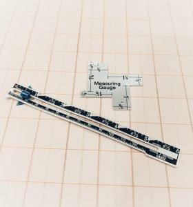 Best Sewing Tools for Beginners: Measuring Gauge
