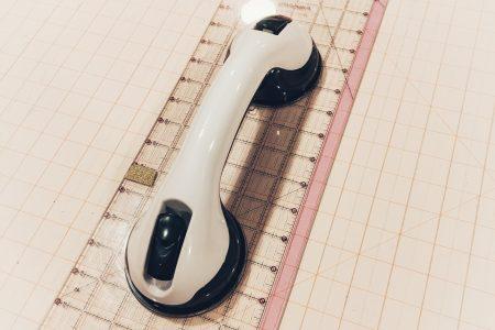 Rotary Cutter Ruler Grip