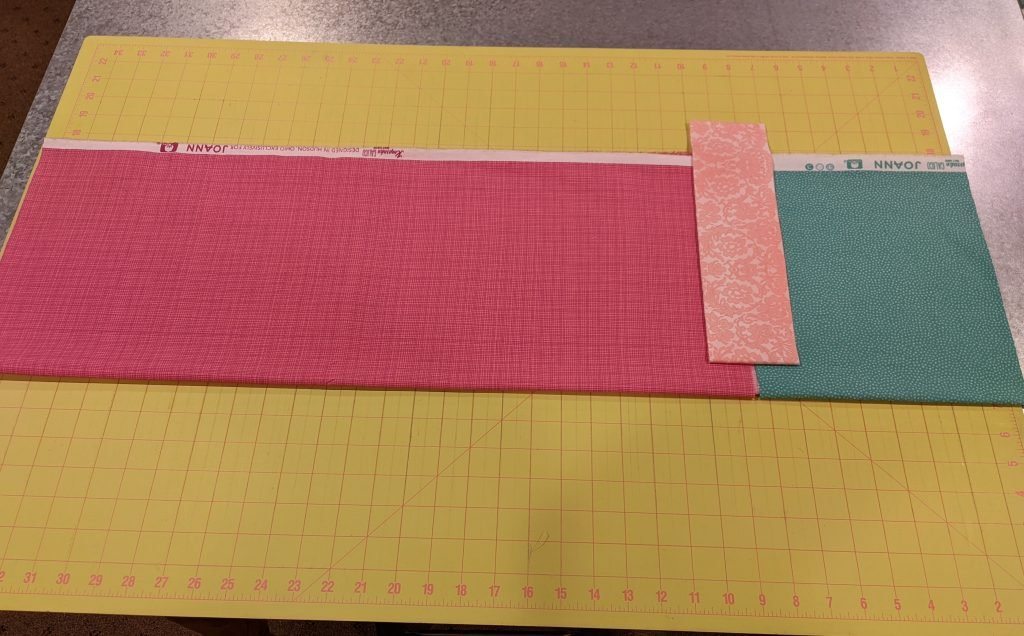 Fabric cut for pillowcase assembly