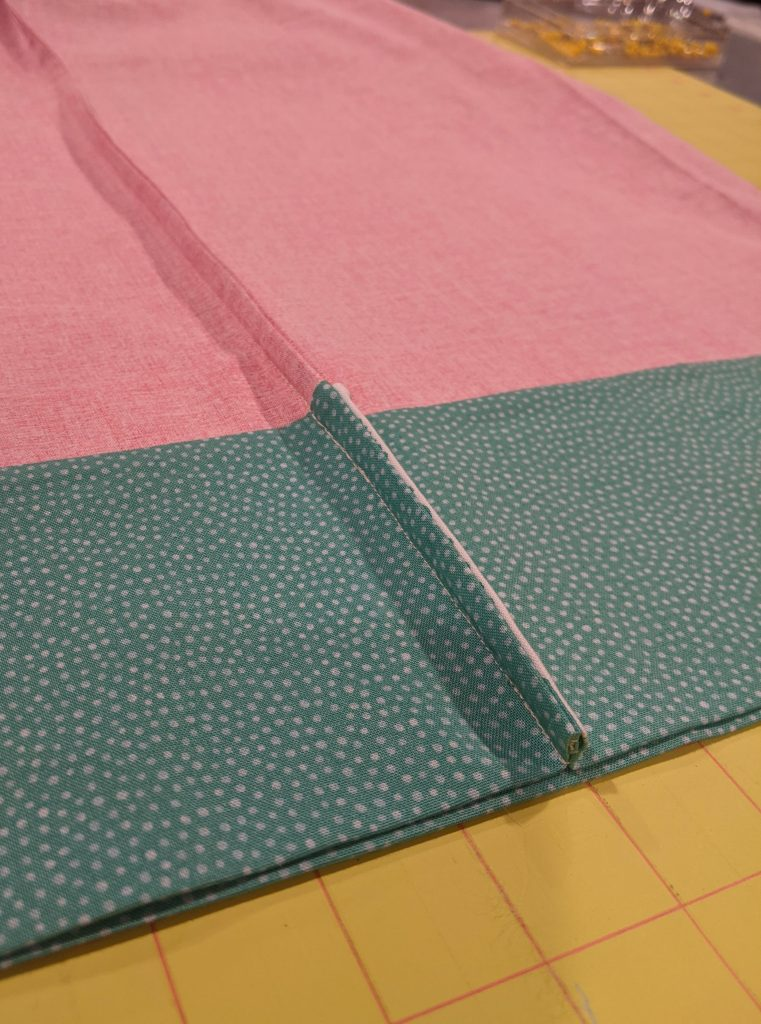 Finished French Seam