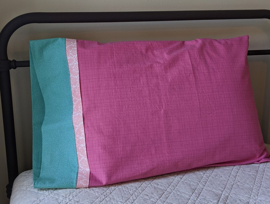 Sewn Pillowcase with French Seams