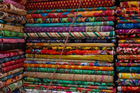 Bolts of Cotton Fabric