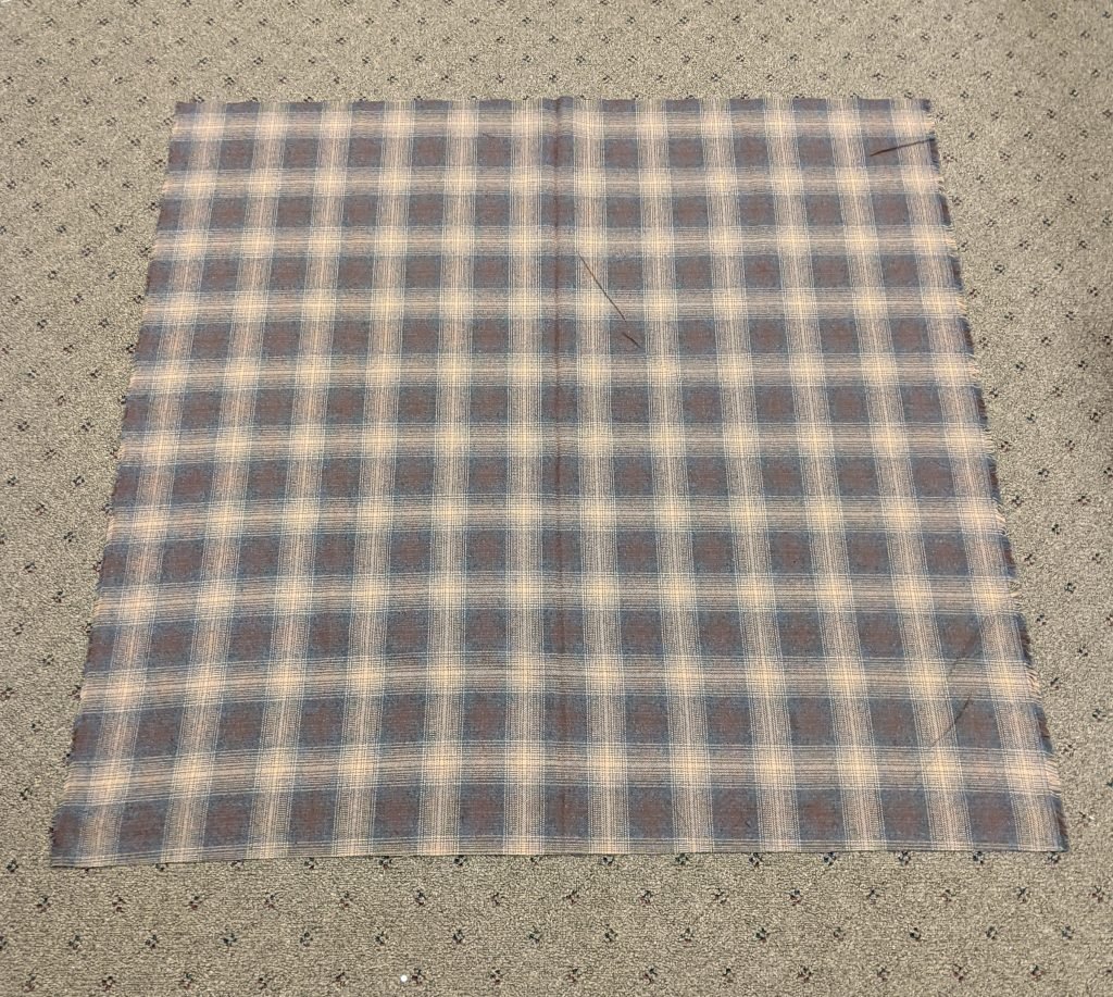 Square of Fabric for scarf