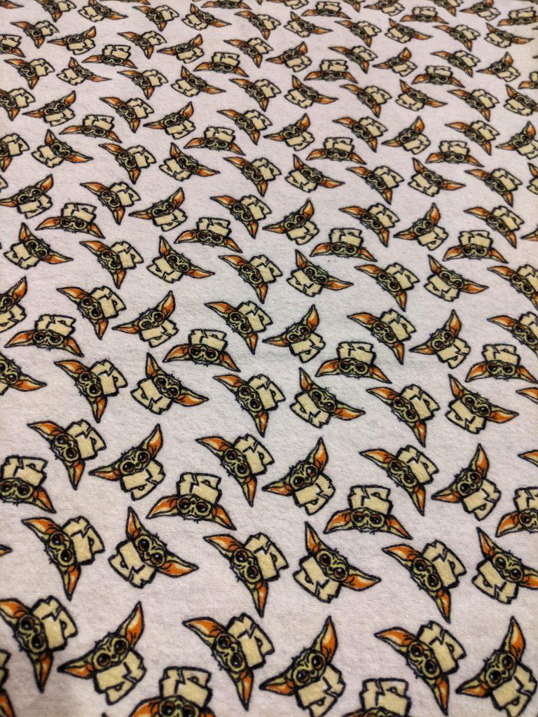 Baby Yoda Fabric