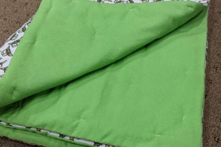 Hand-tied Flannel Blanket