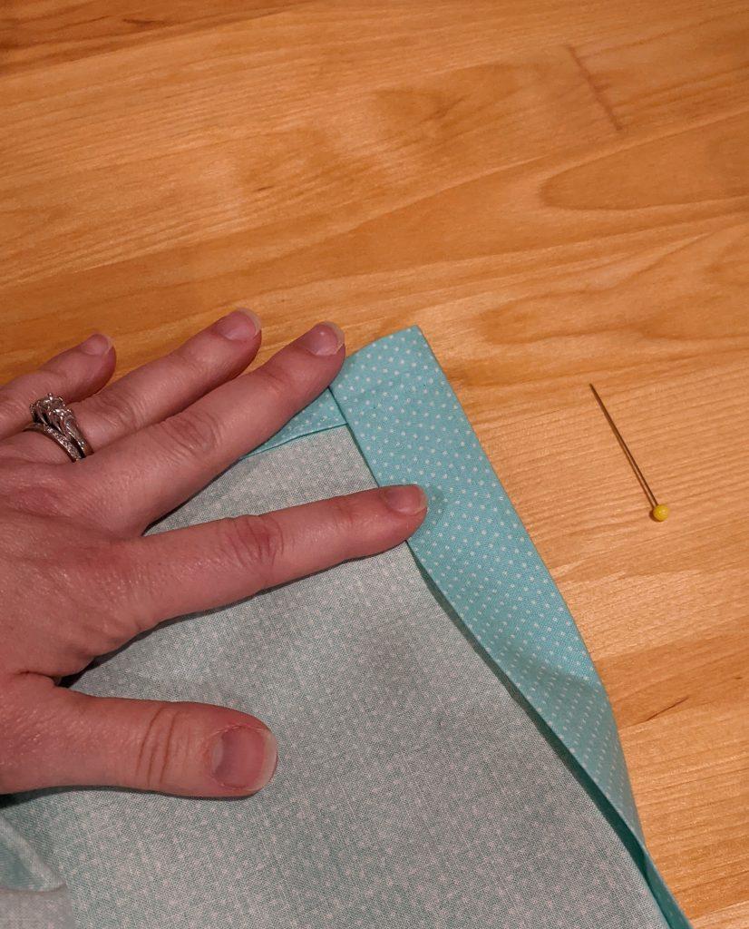 Second hem fold