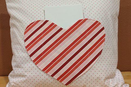 Valentine Pillow Holder