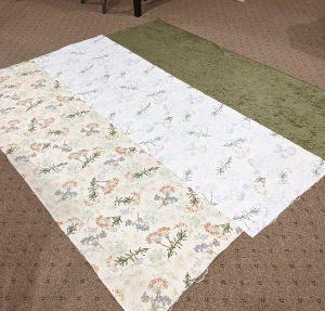 Piecing cotton quilt back