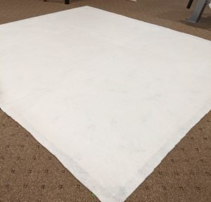 Creating quilt sandwhich