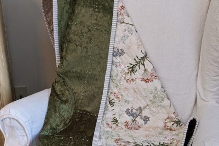 Quilted Velvet Blanket