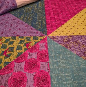 Our Star Quilt quilting